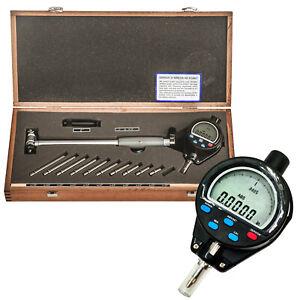 "Dial Indicator 2-6/"" Bore Gage Set Engine .0005 GRAD Hole Cylinder Gauge Gages"