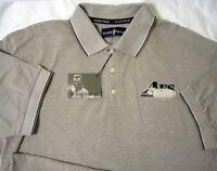 Arnold Palmer ® Golf Vintage American Fleet Khaki Xl Large Polo Shirt