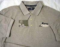 Arnold Palmer ® Golf Vintage American Fleet Khaki Xl Large Polo Shirt