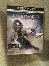 Underworld Blood Wars 4K Bluray 1 Disc Set ( No Digital HD)In Hand Ready To Ship