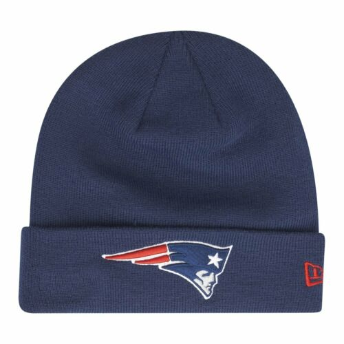 New Era Wintermütze Beanie CUFF New England Patriots navy
