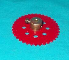 meccano roue de chaine 36 dents, No95 rouge