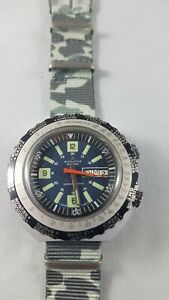 Rodastar Diver Watch, vintage rare , works good