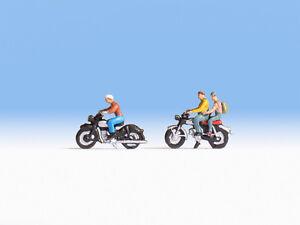 Noch-36904-Scala-N-Figure-034-Motociclisti-034-nuovo-in-confezione-originale