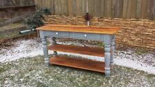 "AMISH MADE RECLAIMED BARN WOOD 62"" long hall table - buffet - sideboard - server"