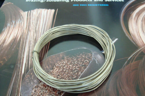 1.5mm x 1 Metre #9 Silver /& Lead-Free Type 97C **FLUX-CORED Soft Solder Wire
