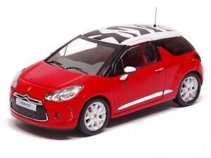 Citroen Ds3 Sport Chic 2011 Red//White 1:43 Ixo Moc122 Model