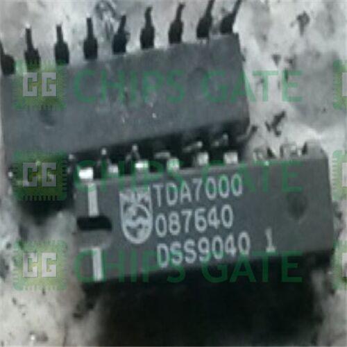 6PCS FM radio IC PHILIPS DIP-18 TDA7000