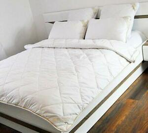 Change in Temperature Wool Duvet,Cotton Double  200 x 200  light weight 4.5 tog