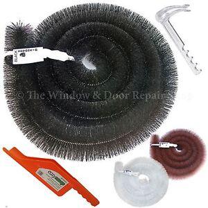 Original-Hedgehog-Gutter-Brush-Leaf-Guard-Packs-100mm-x-4m-10-Year-Guarantee