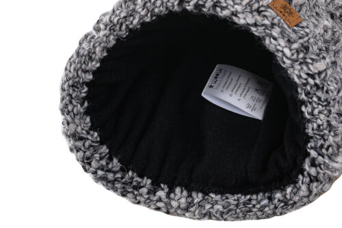 Womens Beanie /& Scarf Warm Winter Bobble Faux Fur Pom Pom Wooly Full Liner Cossy