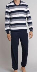 lang Schiesser 159623 H.Schlafanzug Blockringel mit Bündchen 100/% Cotton