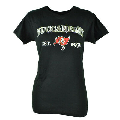 Fanartikel Herrlich Nfl Tampa Bay Buccaneers Commissioner Damen Fußball T-shirt Top Wassermelonen