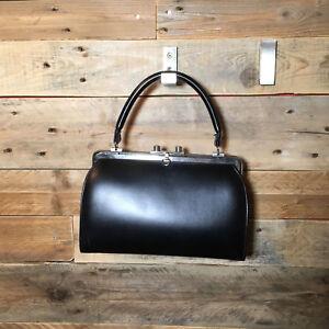 Vintage-retro-sac-a-main-noir-Boutique-PlumeDubois