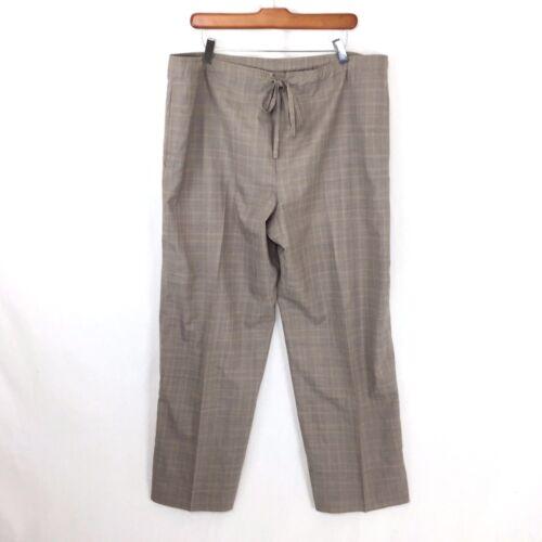 Léger Eskandar Laine Plaid Large Beige Cordon Beige 1 Femme pour J22 Pantalon dq0w8d