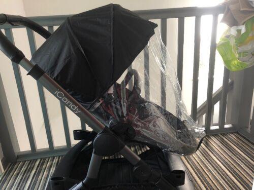 ICandy naranja de reemplazo lluvia cubiertas asiento principal X 2 para el modo de doble.