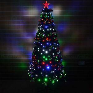 3ft -90cm Christmas tree Fiber Optic Pre-Lit xmas tree with LED Lights Christmas