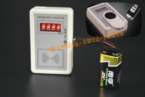 Autos Car RF Frequency Detector Tester Counter Gauge Checker Key Remote Fix RF B