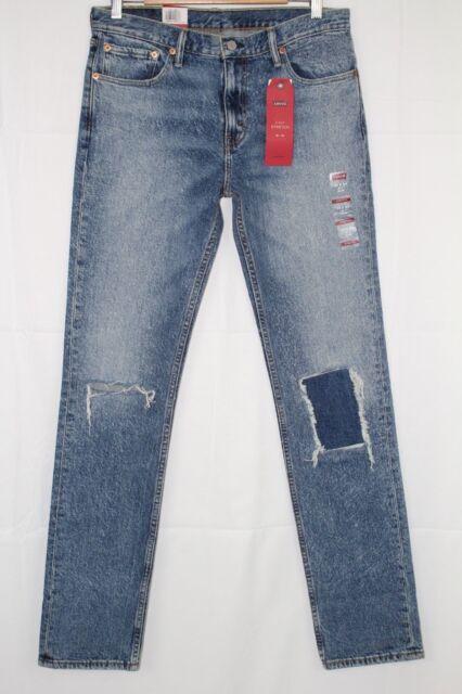 7b3160aeb8a New Levi's Jeans Men's 511 Slim Straight Destroyed Sublime Rhythm #  045112384