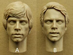 Star-Wars-Luke-Skywalker-1-6-Head-Carving-Model-Accessory-F-12-039-039-Action-Figure