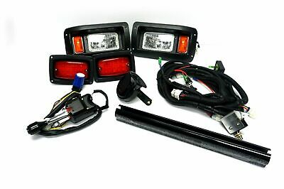 Deluxe Light Kit- Street Legal for Club Car DS Golf Carts on
