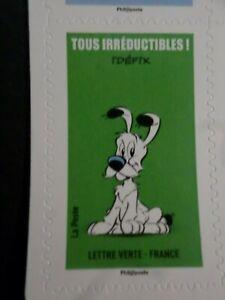 France, 2019 Tp Autoadhesifs, Asterix, Chien Idefix Neuf**, Comics, Mnh Stamp Cool En éTé Et Chaud En Hiver