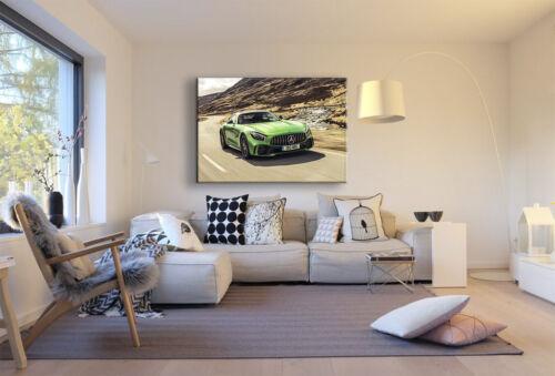 Mercedes AMG GT Leinwandbild AK ART Kunstdruck Mehrfarbig Wandbild Wanddeko XXL