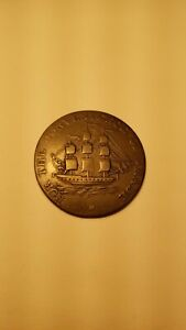 1814-Half-Penny-Token-For-The-Convenience-Of-Trade-Breton-880-NS-8A1Tag-MS7
