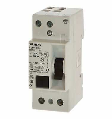 Siemens 5SM3642-6 Fi Schalter 25//0,3  300mA 4polig