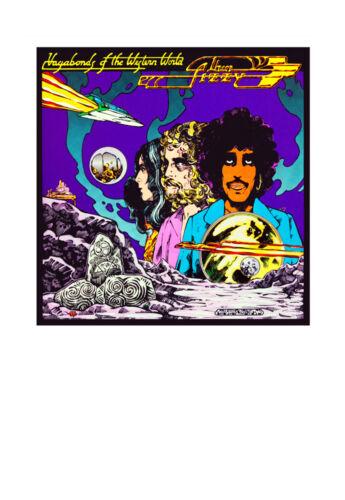 "16/""x11/"" Thin Lizzy Vagabonds of the Western World Album Cover Art Print A3"