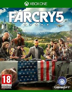 Far-Cry-5-Xbox-One-NEW-amp-SEALED-Fast-Dispatch-Free-UK-P-amp-P