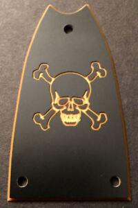 CROSS Black GUITAR TRUSS ROD COVER EPIPHONE Casino Custom Engraved