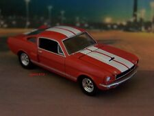 66 1966 FORD SHELBY GT-350 MUSTANG 1/64 SCALE COLLECTIBLE MODEL - DIORAMA