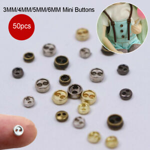 Accessories-blythe-Pullip-Clothing-Sewing-Mini-Metal-Buttons-DIY-Doll-Clothes