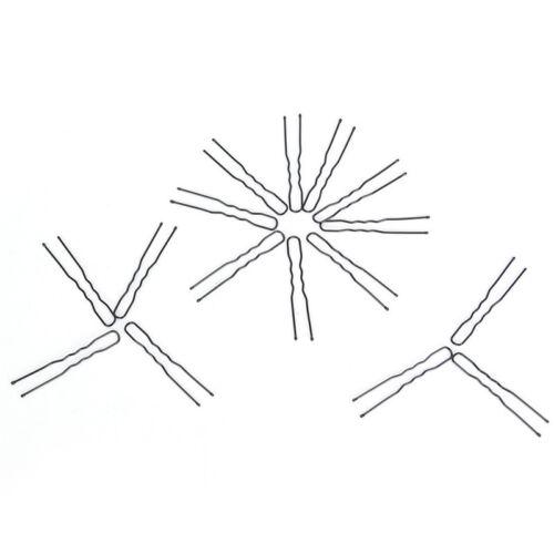 20X Haar gewellt U-förmigen Haarklammer Haarspange Salon Grip Clip Haarnadeln fw