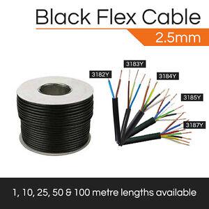 2-5MM-FLEX-CABLE-BLACK-2-CORE-5-CORE-DOMESTIC-FLEXIBLE-CABLE-1M-100M-HO5VV-F