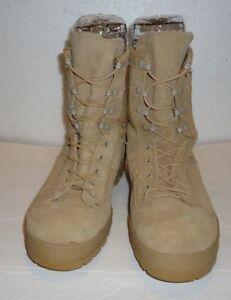 afb58090518 Details about McRAE FOOTWEAR US MILITARY BEIGE GORETEX VIBRAM SOLES COMBAT  BOOTS SIZE 6.5W