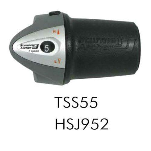 Sturmey Archer 5 Speed Twist Shifter TSS55