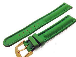# L016 # Uhrenarmband Armband Leder Bracelet Leather Juwelier QualitÄt 18 Mm Mit Einem LangjäHrigen Ruf