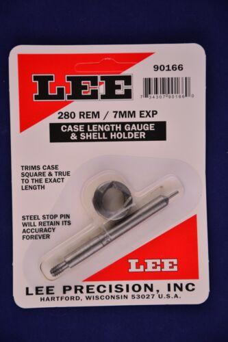Lee Case Length Gauge /& Shell Holder 280 Remington 7mm Express #90166