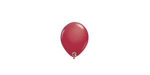 "25 50 ou 100 Qualatex Maroon 5/"" Latex Ballons-Packs de 10"