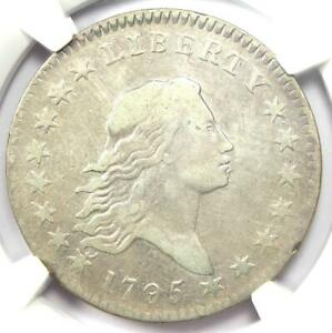 1795 Flowing Hair Bust Half Dollar 50C O-125 R4 - NGC VF Detail - Rare Coin!