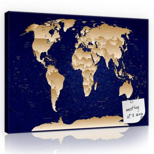 Kork Korktafel Memoboard Korkbild 10870/_PPK-1 Cork Memo Board Landkarte