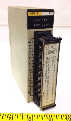 OMRON 0.3//4.8A 24VDC OUTPUT MODULE C200H-OD212