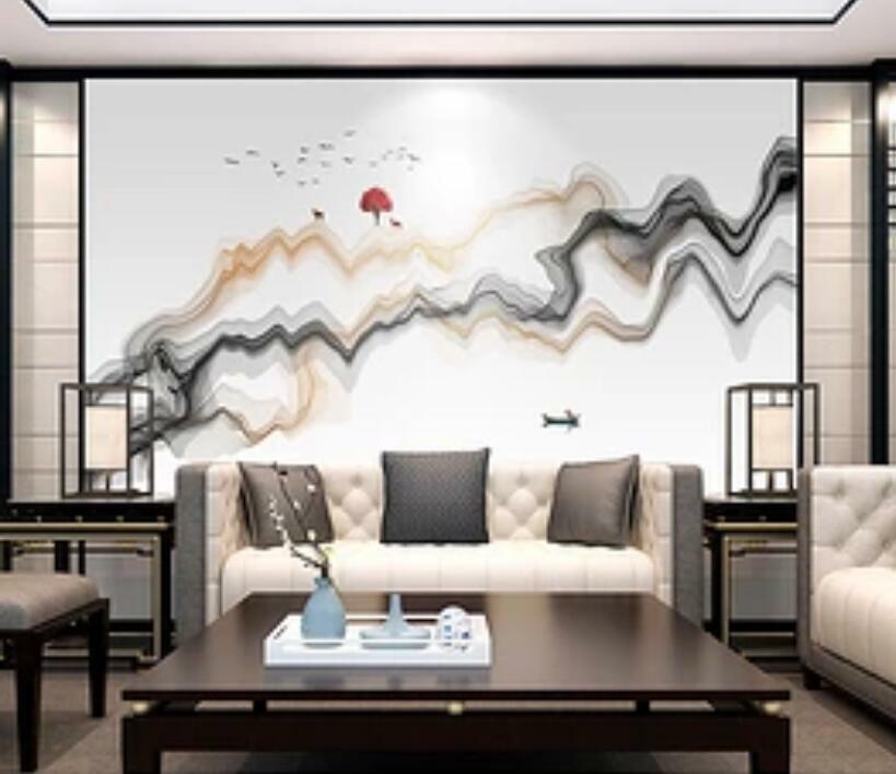 3D Abstract Malen H1514 Tapete Wandbild Selbstklebend Abnehmbare Aufkleber Wend