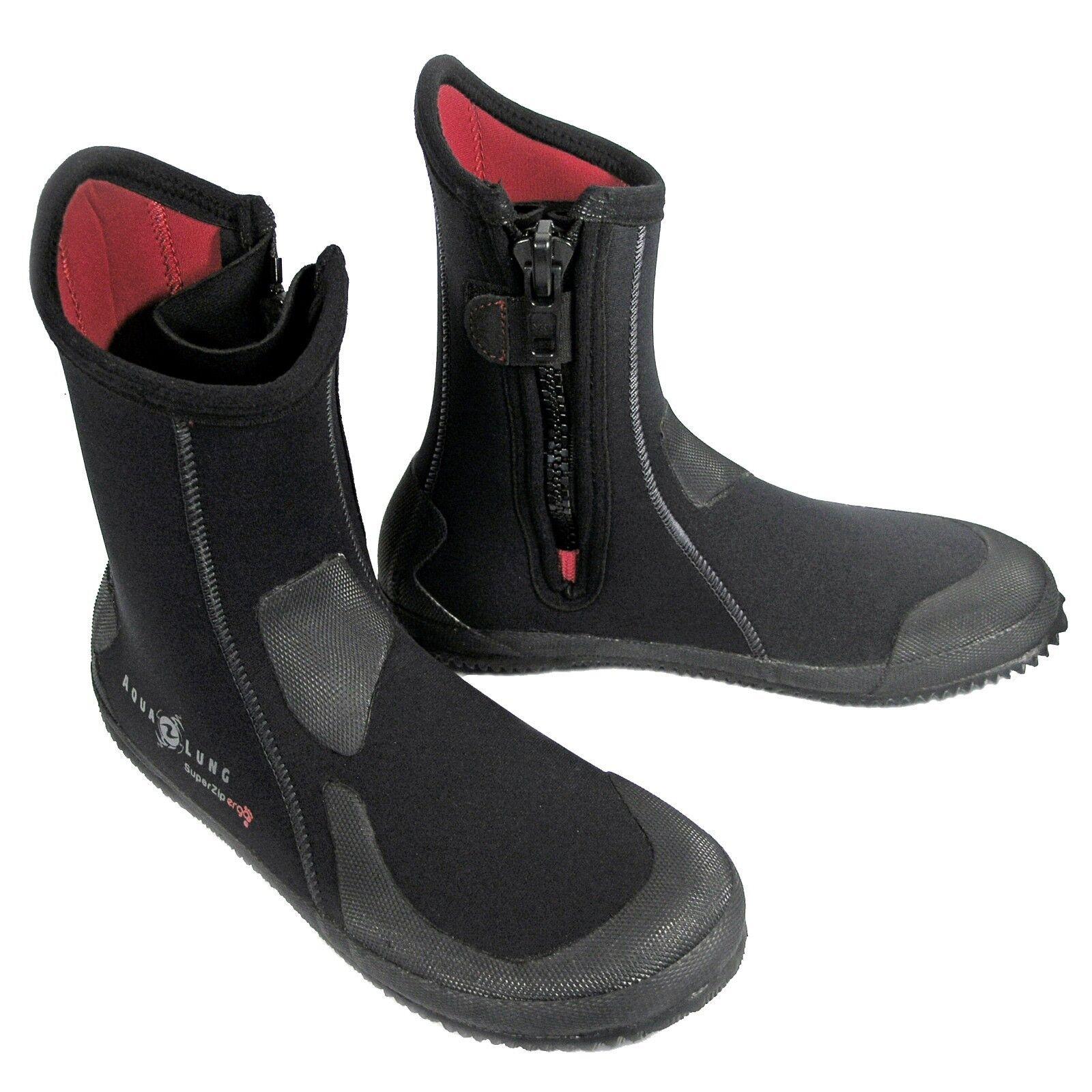 Aqualung Superzip ergo  0 1 4in Neoprene Boots with Zipper  various sizes
