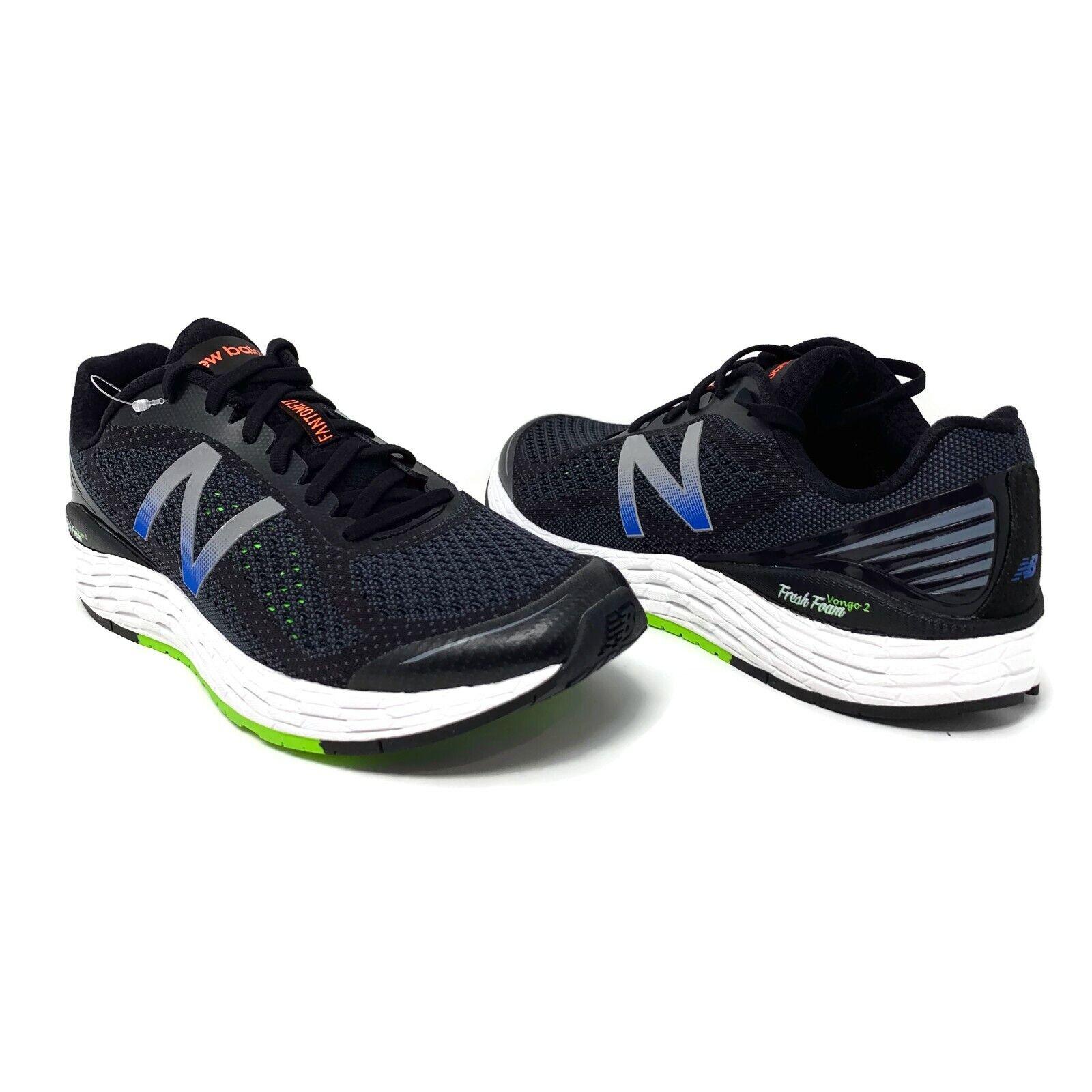 New Balance Fresh Foam Vongo 2 Men's Sz 10.5   11.5 Black Running shoes MVNGOBB2