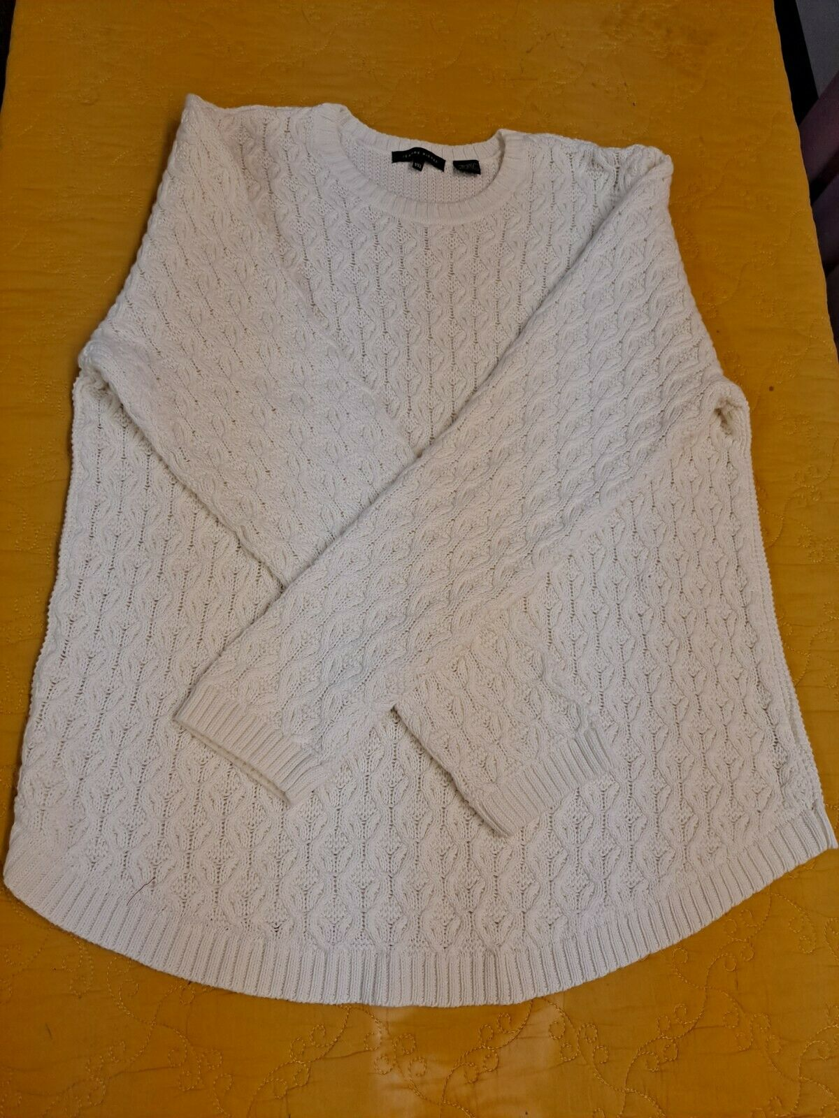 Women's Textured Knit Sweater Cable Knit Pullover… - image 4