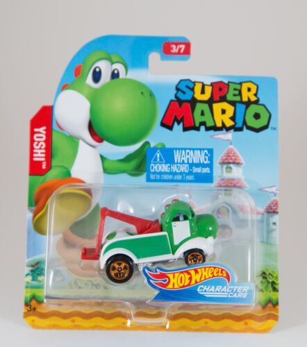 New Super Mario Hot Wheels Character Cars You Choose Complete your Set!