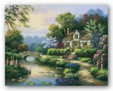 "Home Decor Art Canvas Print Oil Painting Texas Summer Landscape A5915,16/""x20/"""